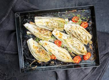 Chicory Oven roasted