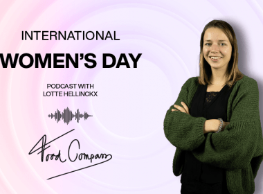 International Women's Day podcast with Lotte Hellinckx